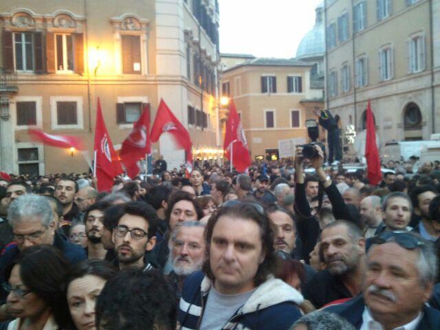 Non c'è e non ci sarà nessuna marcia su Roma