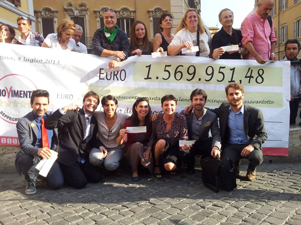 Restitution Day Movimento 5 Stelle Emilia Romagna