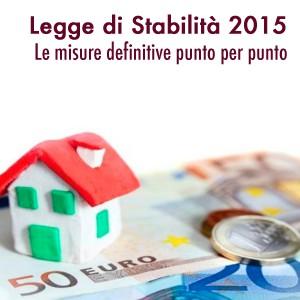 Legge di Stabilità 2015: le misure definitive punto per punto