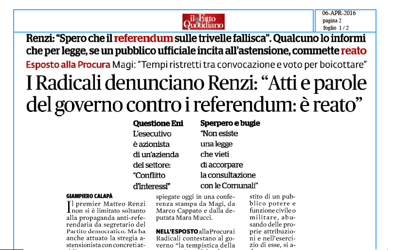 referendum Fatto quotidiano Mucci
