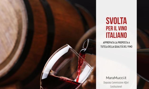 Approvato una mia proposta a tutela della qualità del vino ER