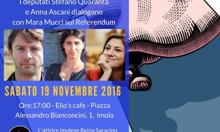 Ad Imola arriva il dibattito sul referendum costituzionale