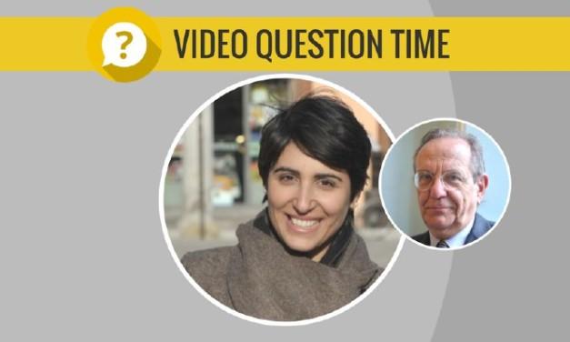 Video del Question Time con il Ministro Padoan