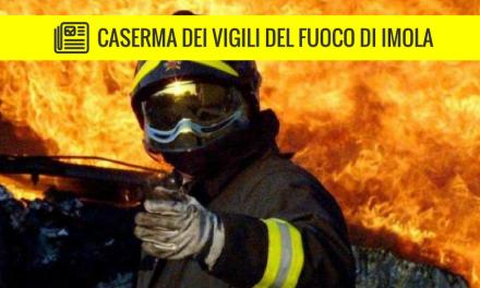 Nuova Caserma dei Vigili del fuoco, Imola: le mie novità sulla stampa locale
