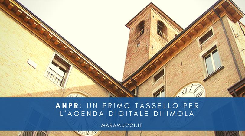 ANPR: un primo tassello per l'agenda digitale di Imola