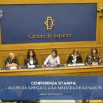 CONFERENZA STAMPA: l'alopecia spiegata alla Ministra della Salute