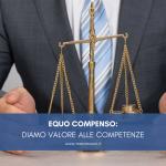 EQUO COMPENSO: DIAMO VALORE ALLE COMPETENZE