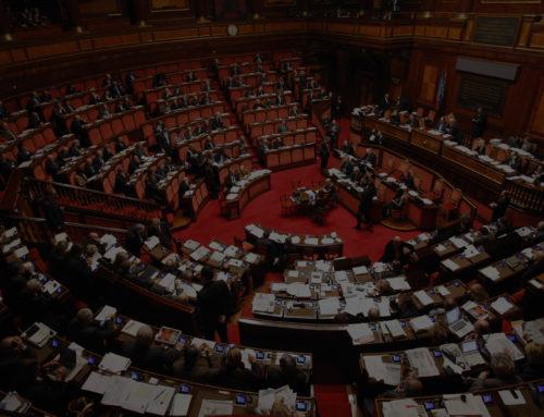 Parlamento decapitato con colpa